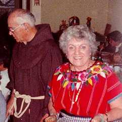 Padre Justiniano and Sara Merdes