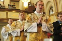Fr. Michael Roche at his First Mass