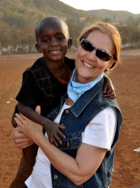 Connie Cheren and Child