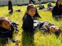 Cachequel girls at recess.