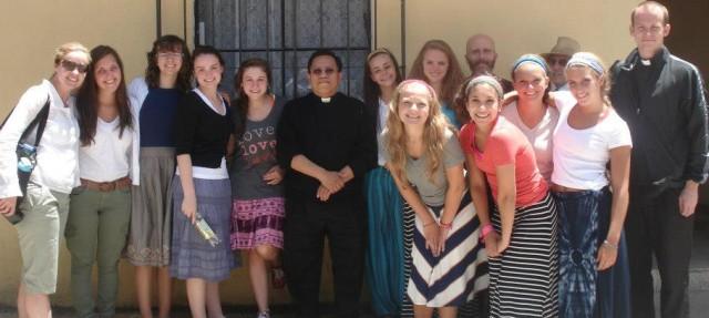 Oakland Catholic Mission Group 2012