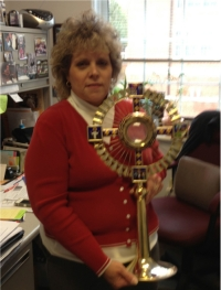 Pat Brister w Monstrance