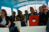 boat on Atitlan